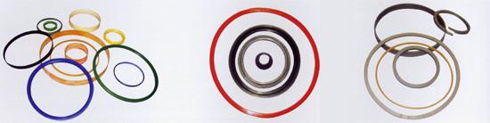 聚四氟乙烯盘根、活塞环、导向环、防尘圈、支承环系列产品